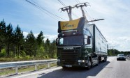 Electric road hybrid truck