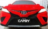 Toyota z klocków Lego i Lexus z origami