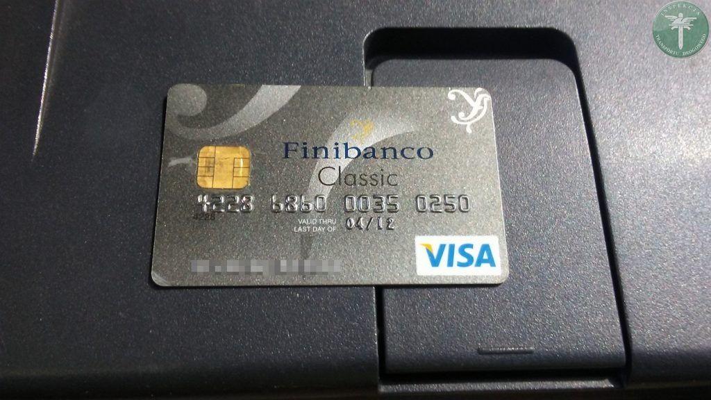 Zamiast Karty Do Tachografu Okazali Karte Visa Cargonews Pl